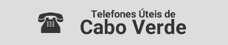 Telefone úteis de Cabo Verde